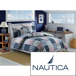 Nautica Chatham Cotton Duvet Cover (Shams Sold Separately)
