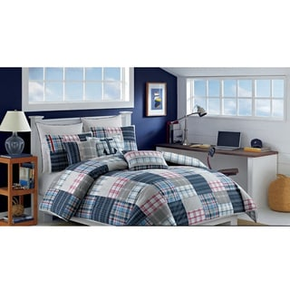 Nautica Chatham Cotton Duvet Cover and Sham Separates