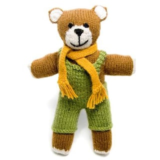 Knit Teddy Bear (Peru)