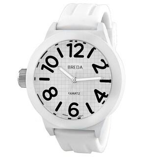 Breda Women's 'Jaxon' Bold White/ Black Watch