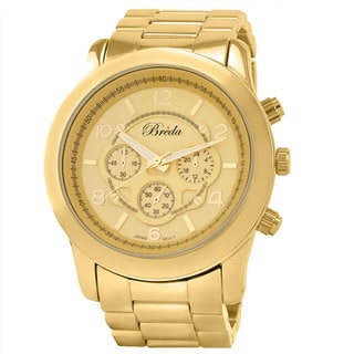 Breda Women's 'Jordan' Goldtone Watch