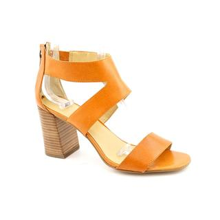 Nine West Women's Orange 'Very Now' Leather Dress Shoes