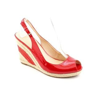 Marc Fisher Women's 'Excellent' Red Synthetic Sandals