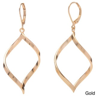 Alexa Starr Twisted Infinity-shaped Earrings