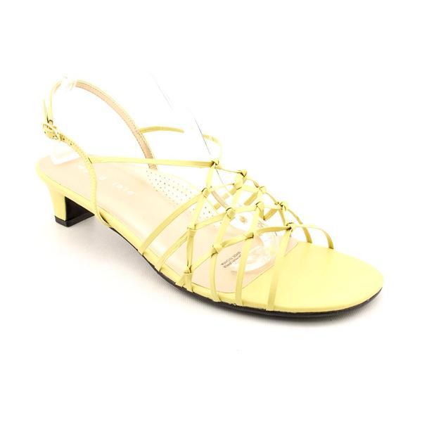 David Tate Women's 'Yknot' Leather Sandals - Narrow