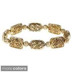Alexa Starr Vintage-inspired Filigree Bracelet