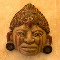 Handcrafted Ceramic 'Maya Priest' Mask (El Salvador)