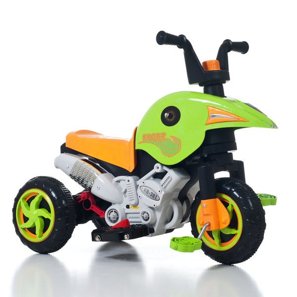 Lil' Rider Gemini Dual Action Battery and Pedal Power Trike