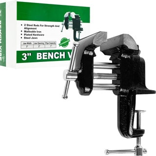 Stalwart 3 inch Bench Vice