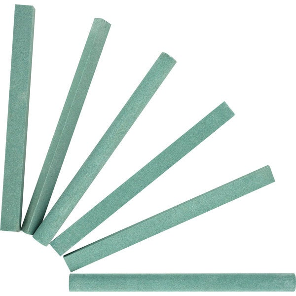 Stalwart Assorted Shape Sharpening Stones (Set of 6)
