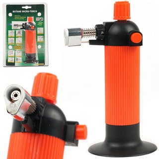 Stalwart Self Igniting Refillable Butane Micro Torch