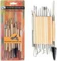 Stalwart 11 piece pottery and sculpture tool set
