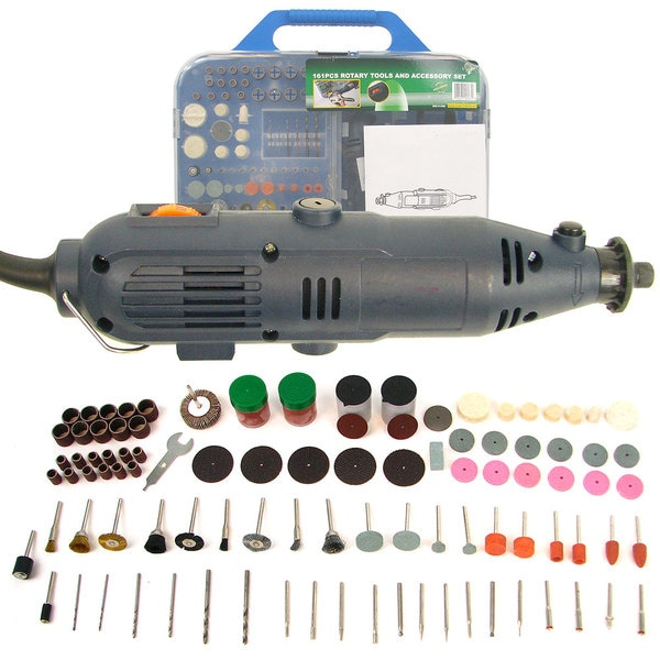 Stalwart 161-piece Rotary Tool Set