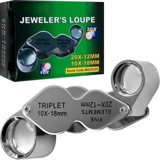 Stalwart Dual Magnification Loupe