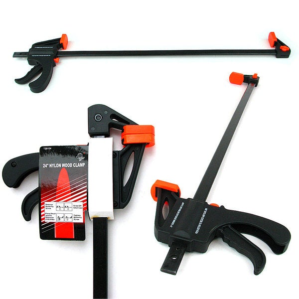 Stalwart Large 24-inch Nylon Quick Release Wood Clamps