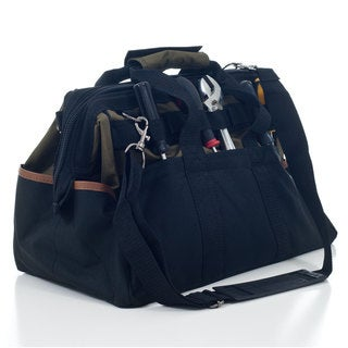 Stalwart Rugged Nylon 22-pocket Tool Bag