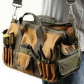 Stalwart Rugged Nylon Multi-pocket Tool Bag