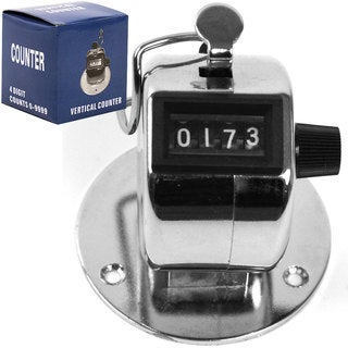 Stalwart Handheld Clicker Tally Counter