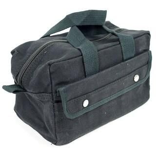 Stalwart Tough Black Multipurpose Canvas Bag