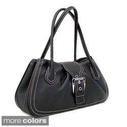 Dasein Women's Leatherette Shoulder Bag