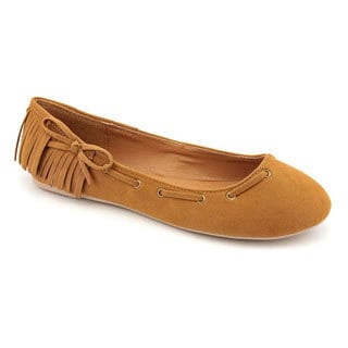 Rampage Women's Tan 'Messier' Regular Suede Casual Shoes