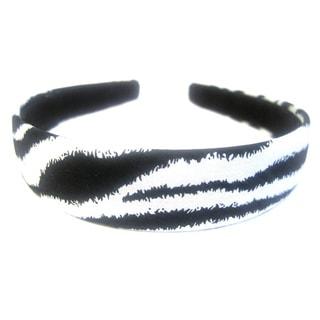 Crawford Corner Shop 1-Inch Zebra Print Headband