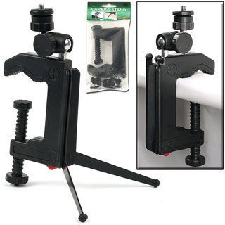 NorthWest Swivel Camera Stand Tripod/ Table C-clamp