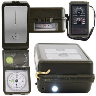 Whetstone 10-in-1 Multi-function Compass with LED Light