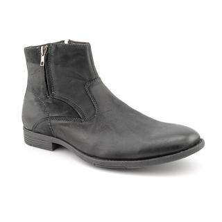 Robert Wayne Men's 'Caleb' Leather Boots