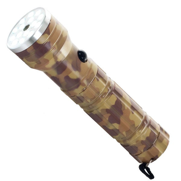 Whetstone 15 LED Flashlight with Laser Pointer