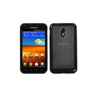 MYBAT Clear/ Black Gummy Case for Samsung Epic 4G Touch/ Galaxy S II
