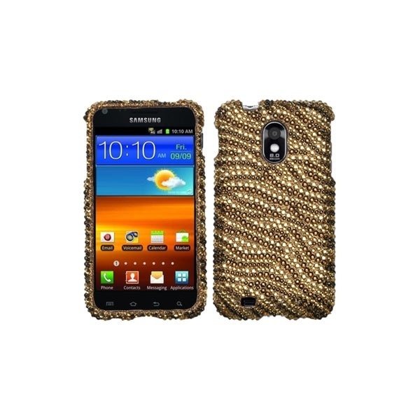 INSTEN Tiger Skin Diamante Case Cover for Samsung Epic 4G Touch/ Galaxy S II
