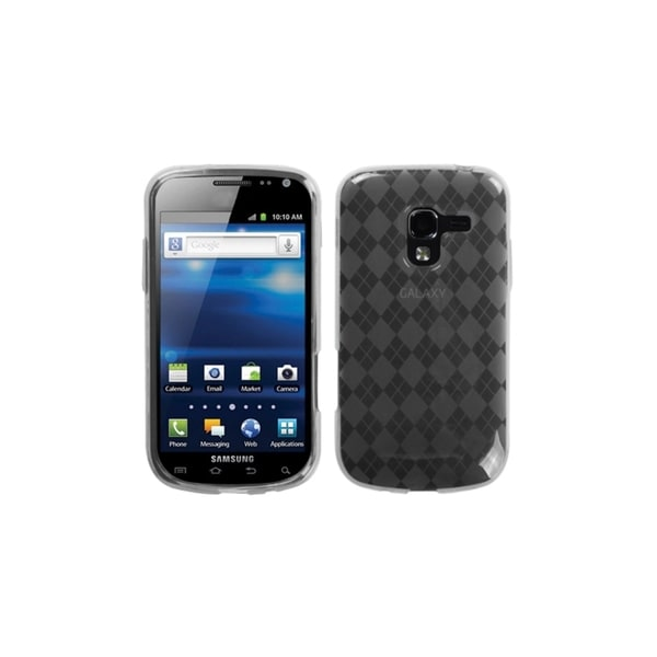 INSTEN Clear Argyle Gel Phone Case Cover Skin for Samsung i577 Galaxy Exhilarate
