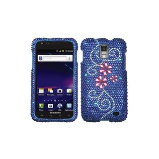 MYBAT Flower Diamante Case For Samsung Galaxy S II Skyrocket i727