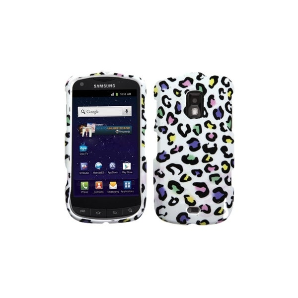 INSTEN Colorful Leopard Phone Case Cover for Samsung R930 Galaxy S Aviator R940