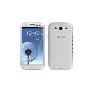 MYBAT Transparent Clear Argyle Skin Cover Case for Samsung� Galaxy S3