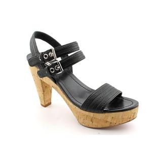 Miu Miu Women's 'Nappa Washed 14' Leather Sandals