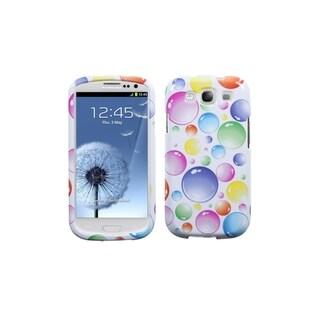 MYBAT Rainbow Colorful Bubbles Cover Case for Samsung� Galaxy S3/ III