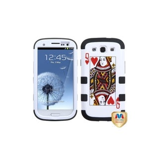 MYBAT Queen of Heart Black TUFF Hybrid Case for Samsung� Galaxy S3