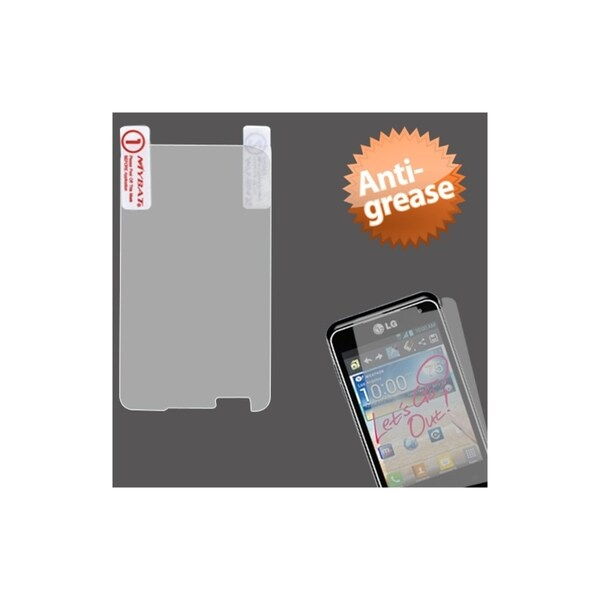 INSTEN Anti-grease LCD Screen Protector/ Clear for LG MS770 Motion 4