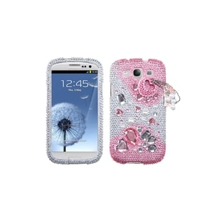 MYBAT Pink Romance Premium 3D Diamond Case for Samsung� Galaxy S3