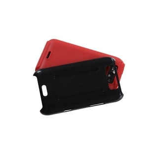 ASMYNA Red Inverse Fusion Case Cover for LG MS840 Connect 4G/ LS840