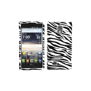 MYBAT Zebra Skin Phone Case Cover for LG VS930 Spectrum 2