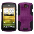 ASMYNA Purple/ Black Astronoot Phone Protector Case for HTC One S