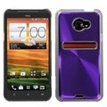 MYBAT Purple Cosmo Back Protector Case Cover for HTC EVO 4G LTE