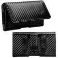 MYBAT Black/ Gray Braided Horizontal Pouch 2803 for Apple iPhone 5