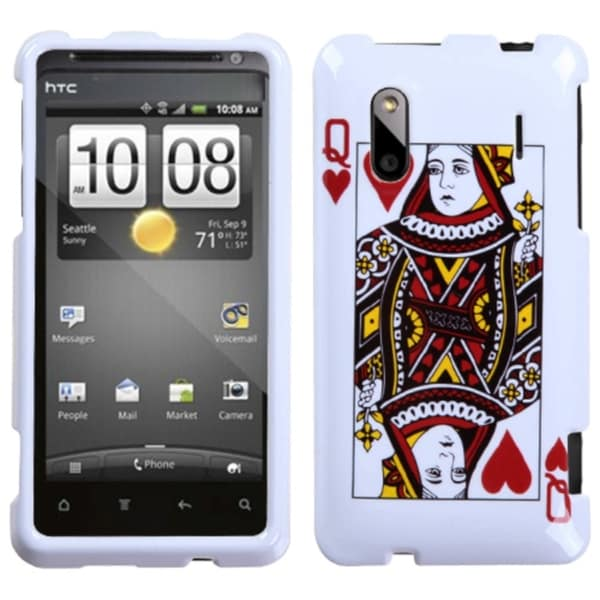 INSTEN Queen of Hearts Case Cover for HTC Hero 4G/ Kingdom