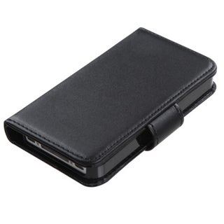 MYBAT Black Book-Style MyJacket Wallet with Tray for Apple� iPhone 4