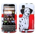 MYBAT Dalmatian Phone Protector Case Cover for MOTOROLA MB612 XPRT
