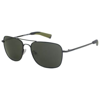 Guess Men's GU6600P Polarized/ Aviator Sunglasses
